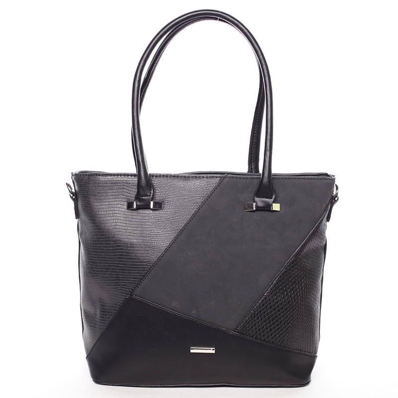 Středně velká černá dámská kabelka přes rameno - David Jones Manila