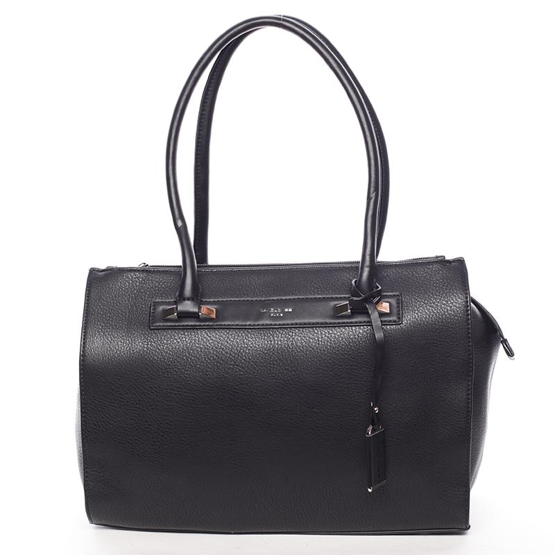 Elegantní dámská kabelka přes rameno černá - David Jones Angie