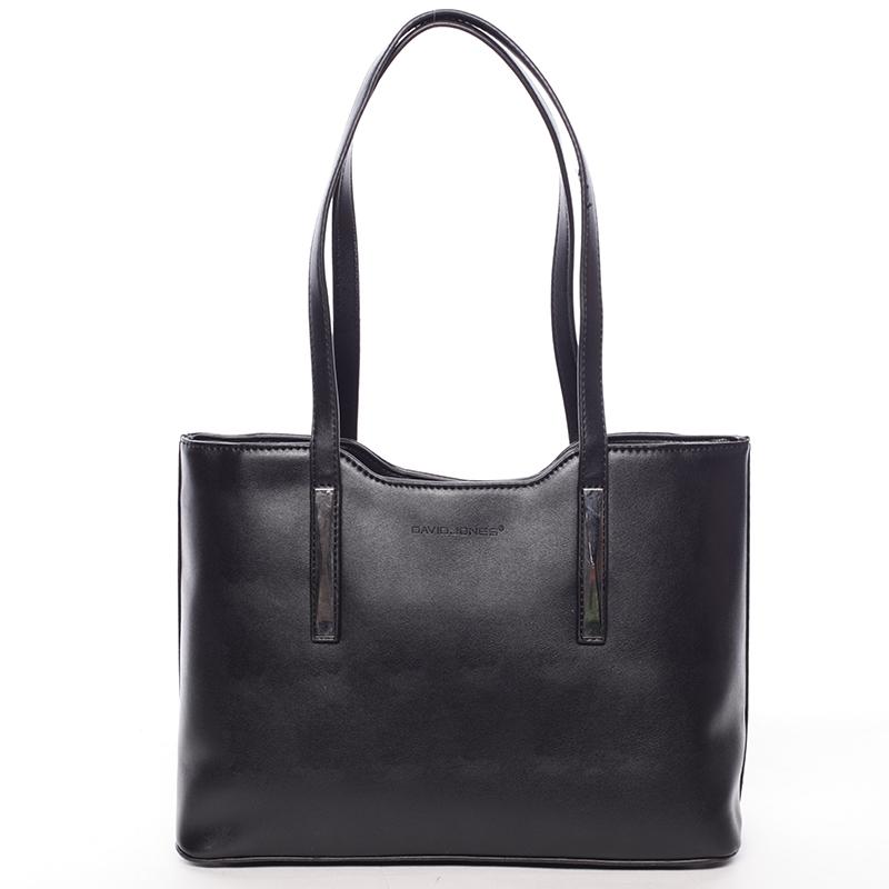 Dámská černá kabelka přes rameno - David Jones Cornella