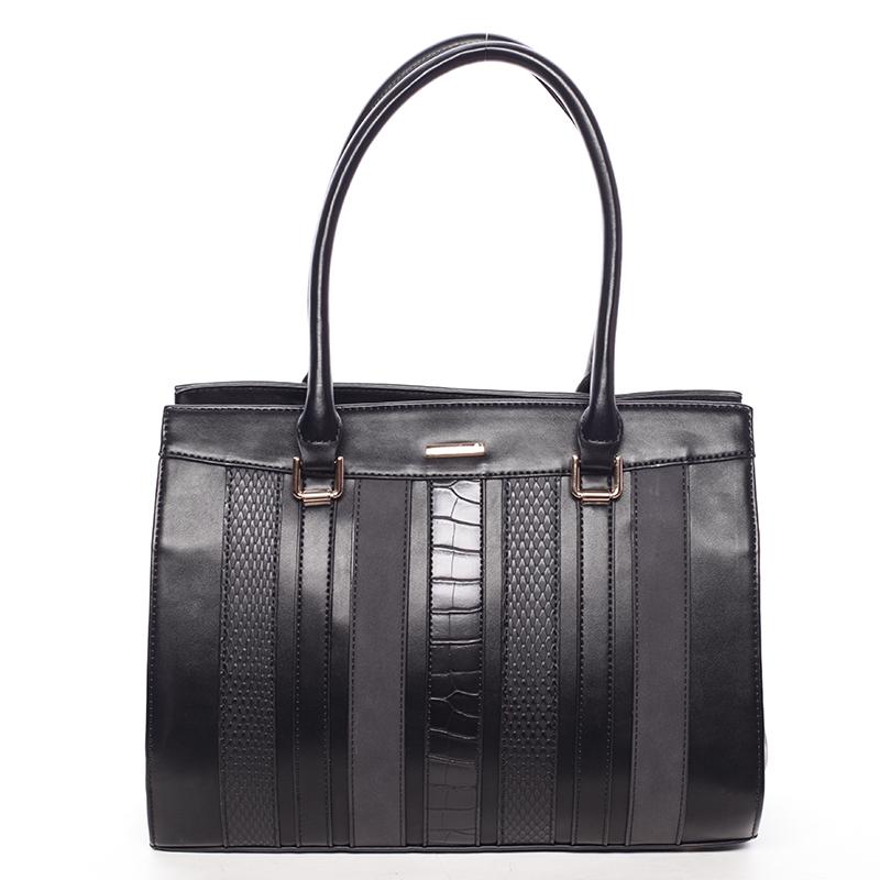 Dámská módní kabelka do ruky černá - David Jones Sttava