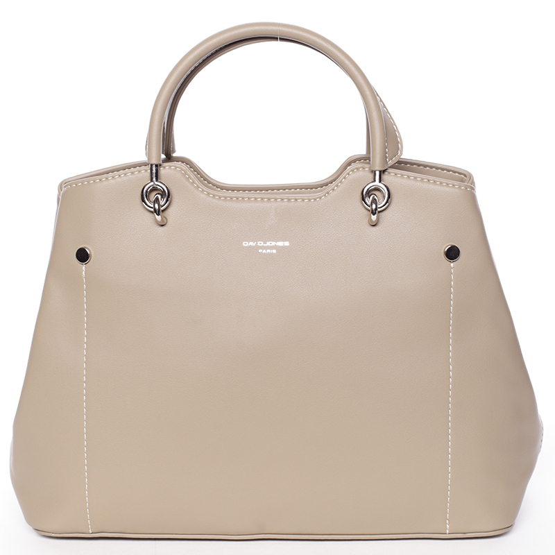 Trendy elegantní khaki dámská kabelka - David Jones Stefania