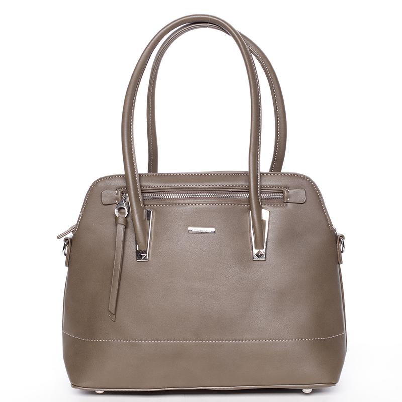 Elegantní khaki dámská kabelka - David Jones Abrielle