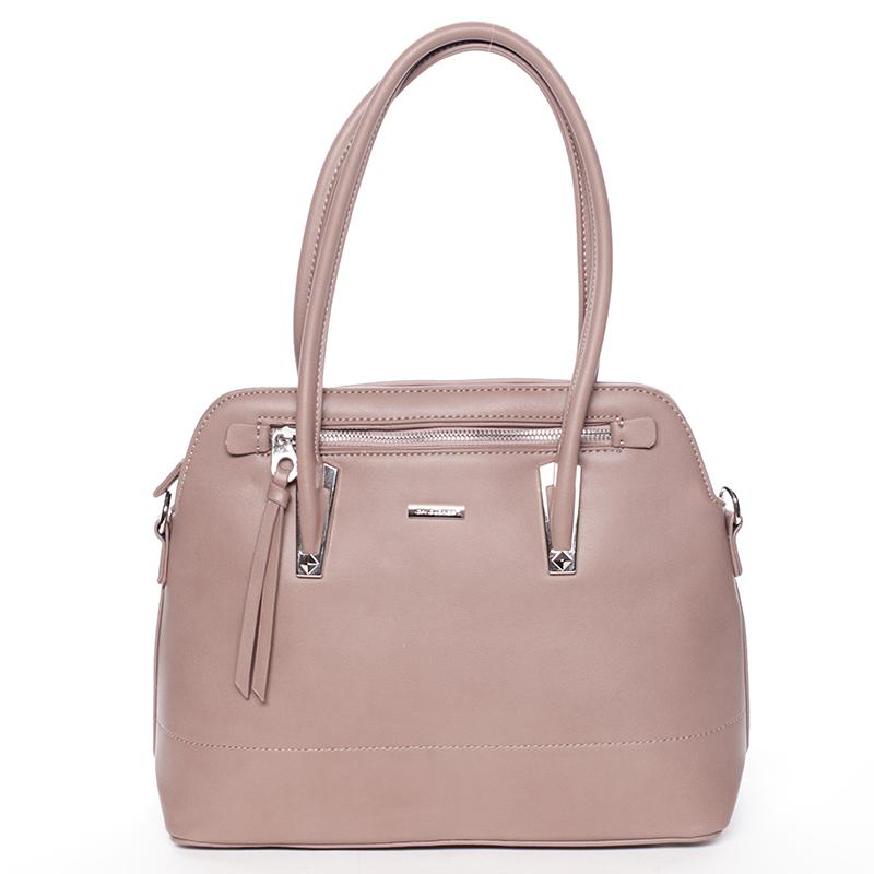 Elegantní růžová dámská kabelka - David Jones Abrielle