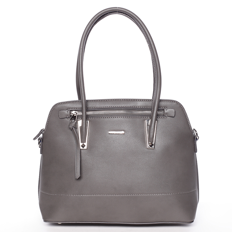 Elegantní šedá dámská kabelka - David Jones Abrielle