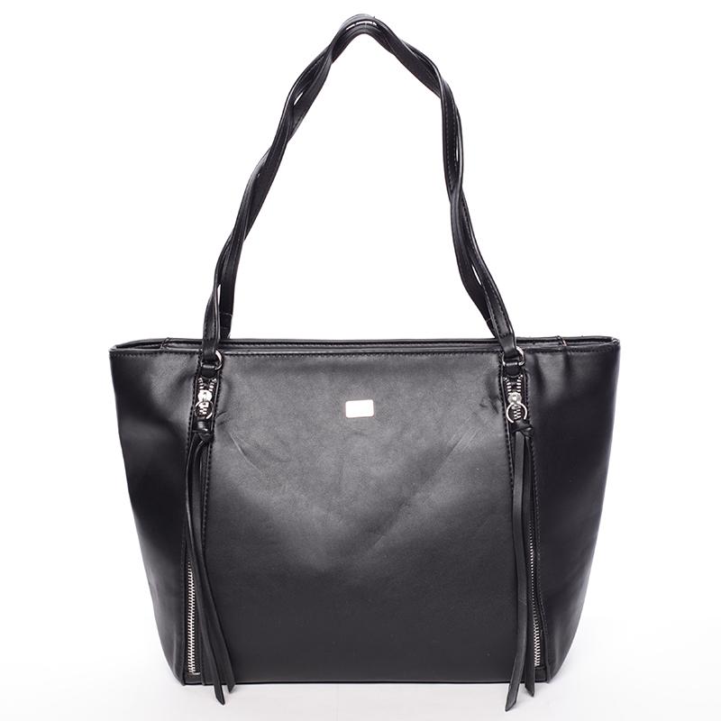 Elegantní černá kabelka přes rameno - David Jones Paola