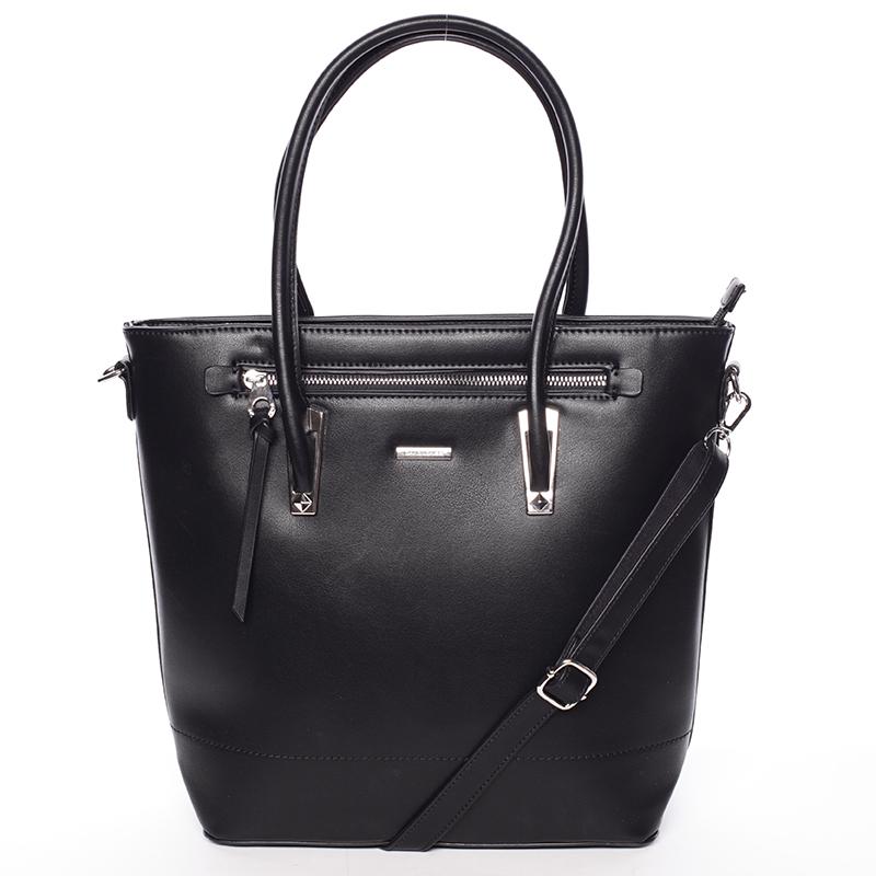 Dámská černá módní kabelka do ruky - David Jones Noemi