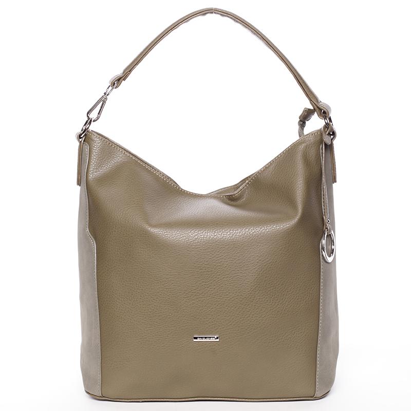 Dámská kabelka do ruky khaki - David Jones Lailah
