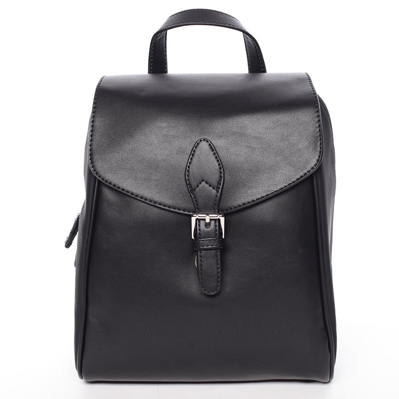 Dámský trendy městský batůžek černý - David Jones Caterina