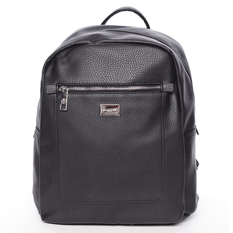 Dámský větší měkký batoh černý - David Jones Kaitlyn