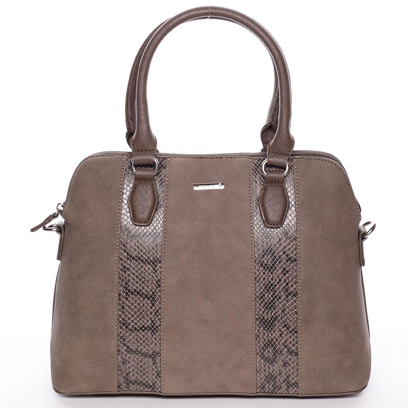 Elegantní taupe dámská kabelka - David Jones Greta