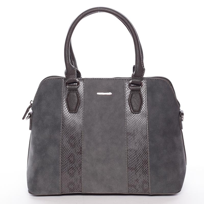 Elegantní šedá dámská kabelka - David Jones Greta