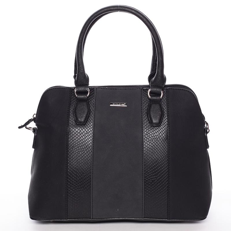 Elegantní černá dámská kabelka - David Jones Greta