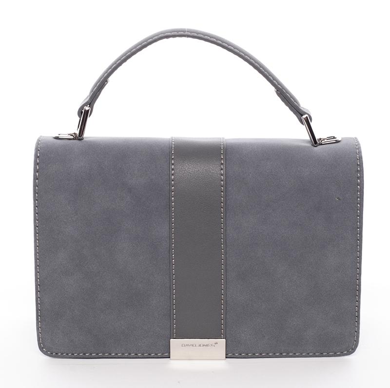 Elegantní společenská modrá dámská kabelka - David Jones Arianna