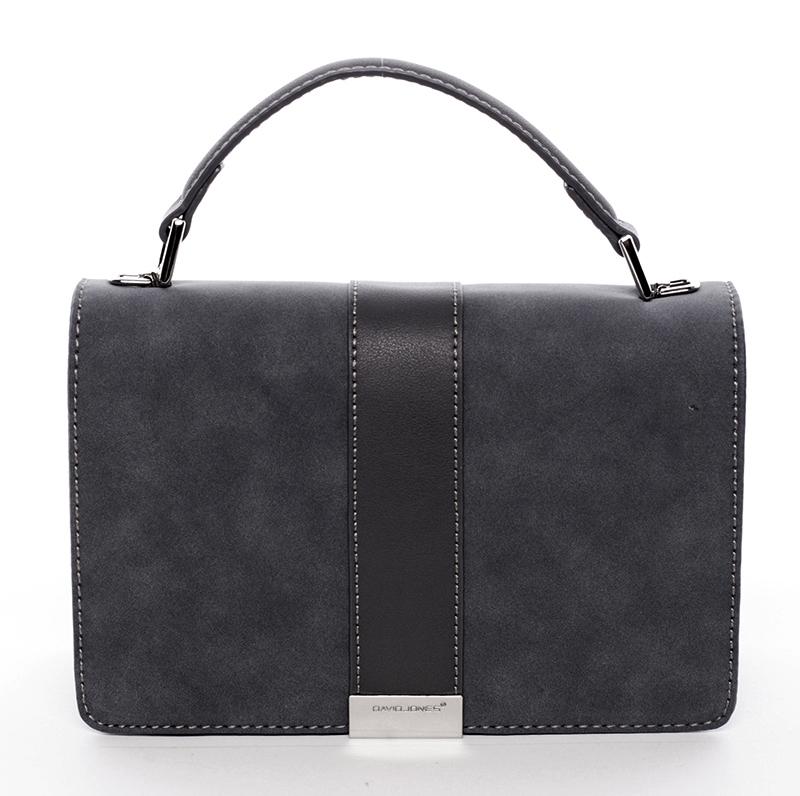 Elegantní společenská černá dámská kabelka - David Jones Arianna
