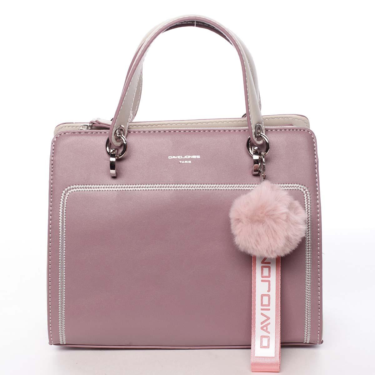 Dámská kabelka do ruky fialově růžová - David Jones Adalgisa