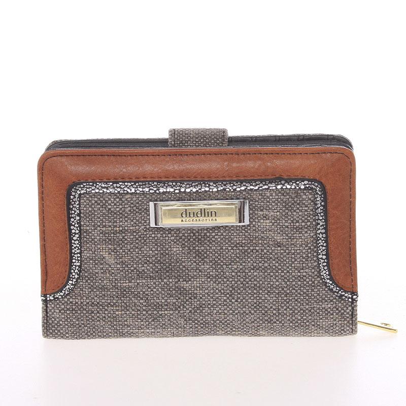 Střední dámská černá peněženka - Dudlin M330