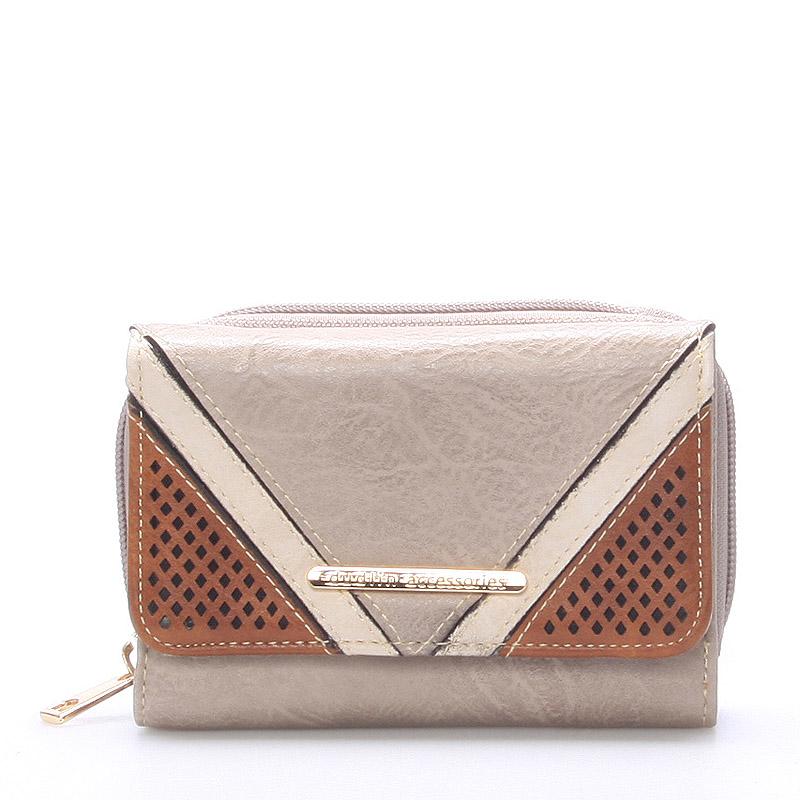 Dámská khaki peněženka - Dudlin M239