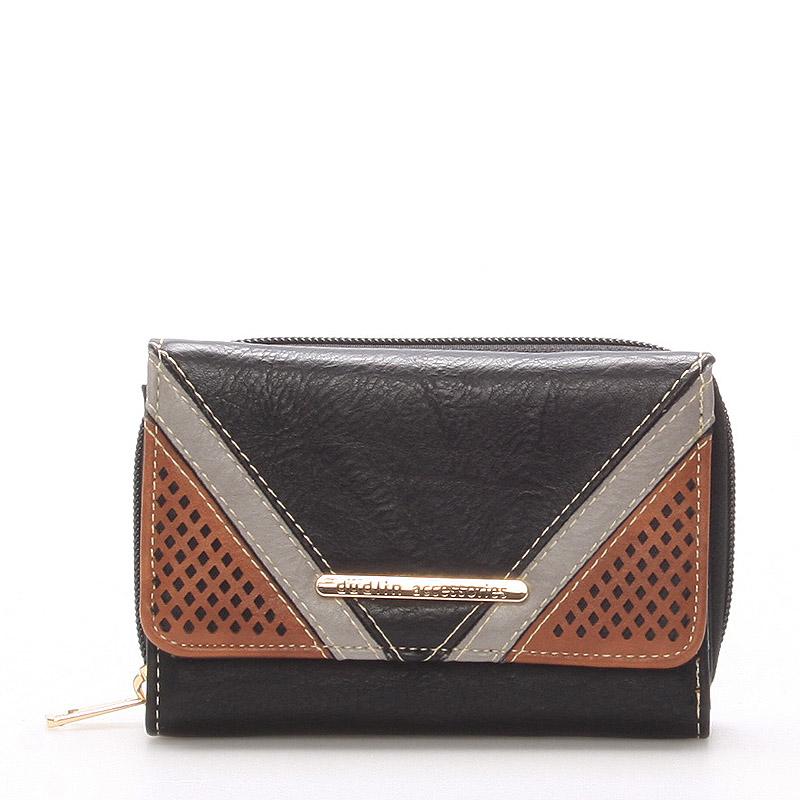 Dámská černá peněženka - Dudlin M239
