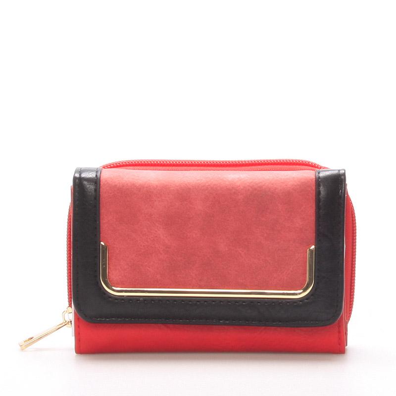 Dámská červená peněženka - Dudlin M250