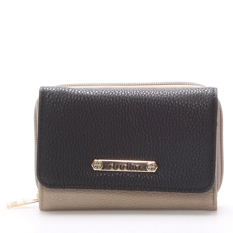 Dámská taupe peněženka - Dudlin M259