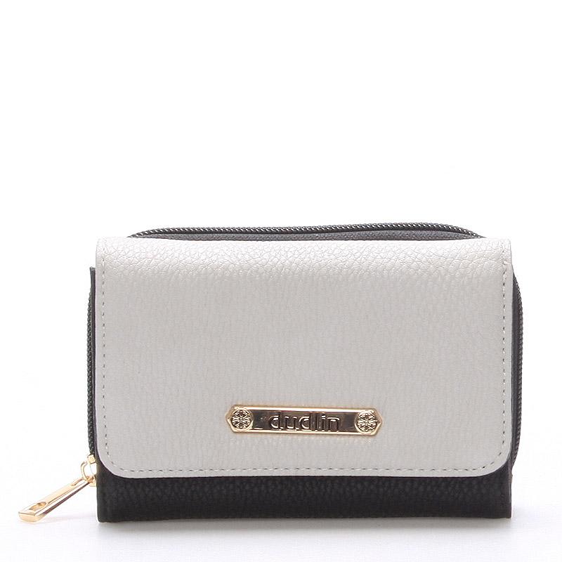 Dámská černá peněženka - Dudlin M259