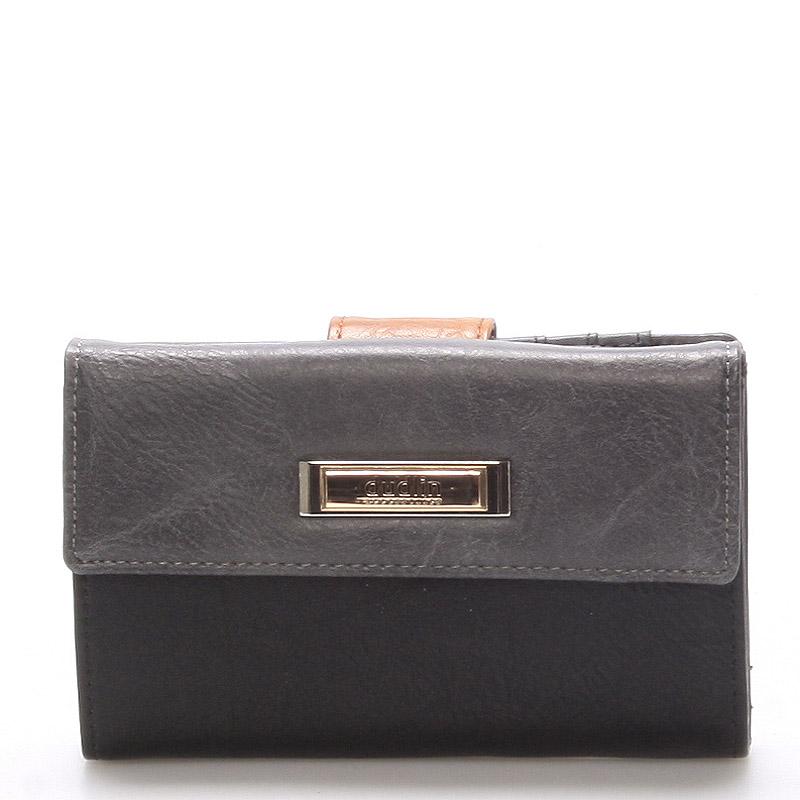 Větší dámská černá peněženka - Dudlin M238