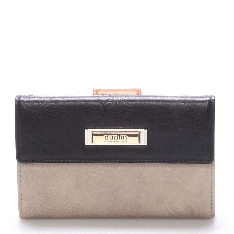Větší dámská khaki peněženka - Dudlin M238
