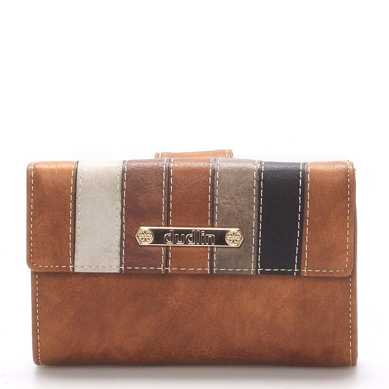 Dámská hnědá peněženka - Dudlin M246