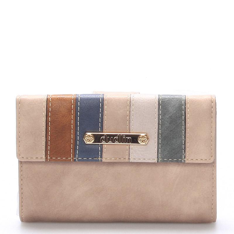 Dámská khaki peněženka - Dudlin M246