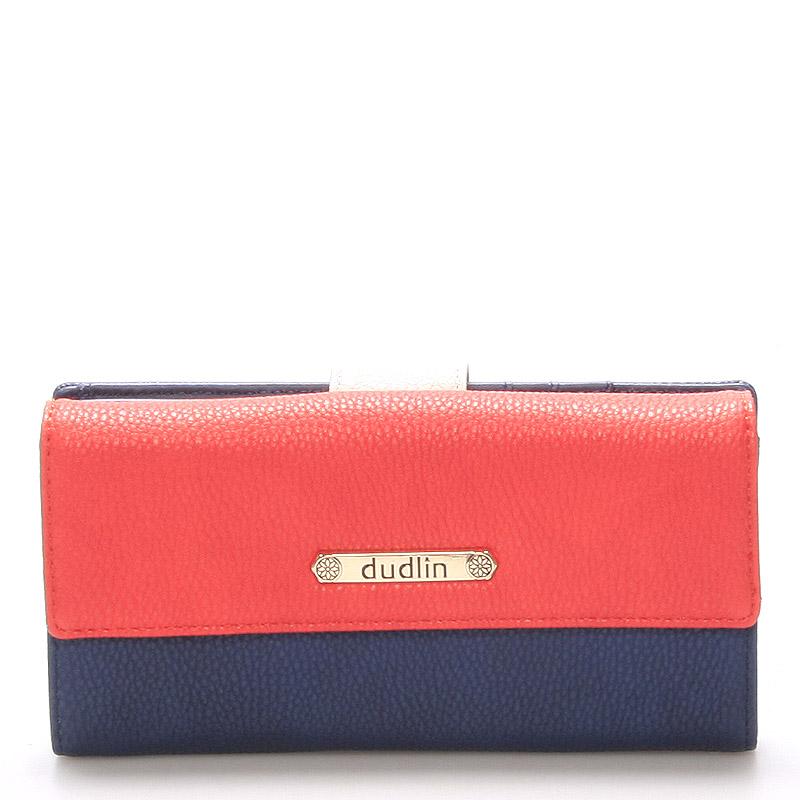 Velká dámská peněženka modrá - Dudlin M260