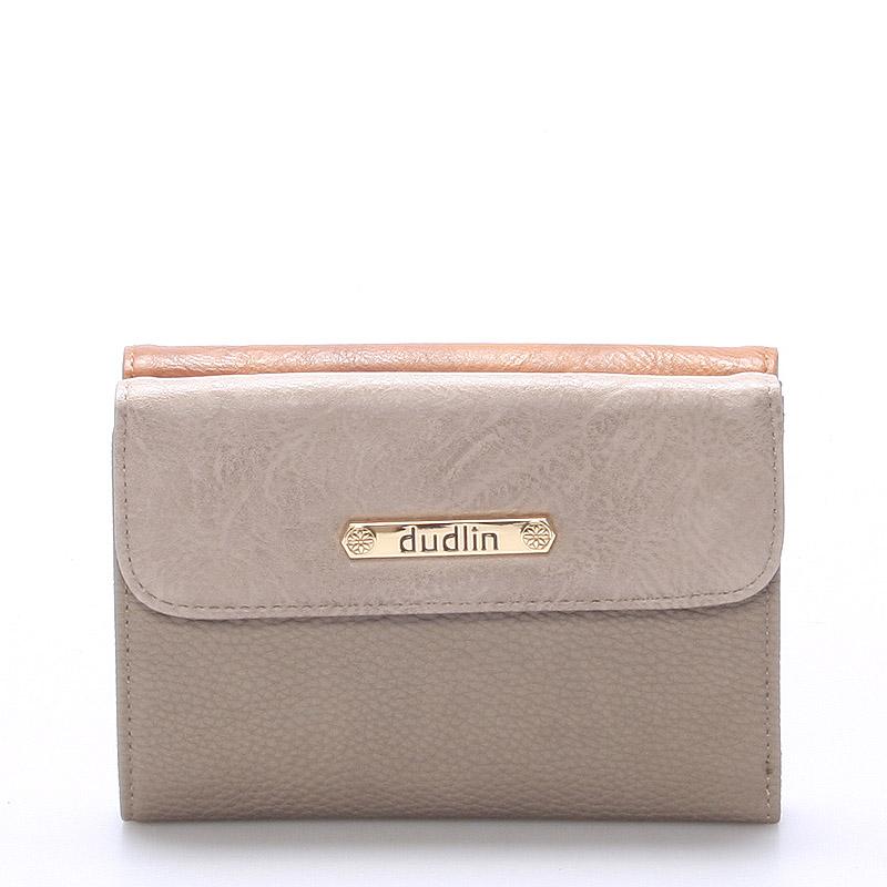 Dámská stylová khaki peněženka - Dudlin M240