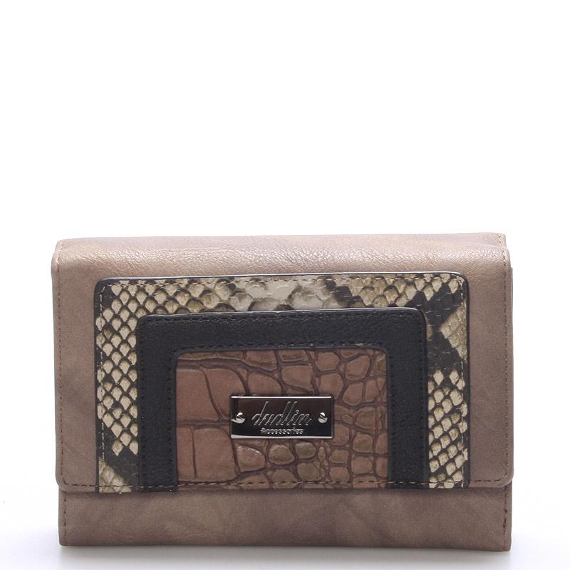 Dámská elegantní písková peněženka - Dudlin M172