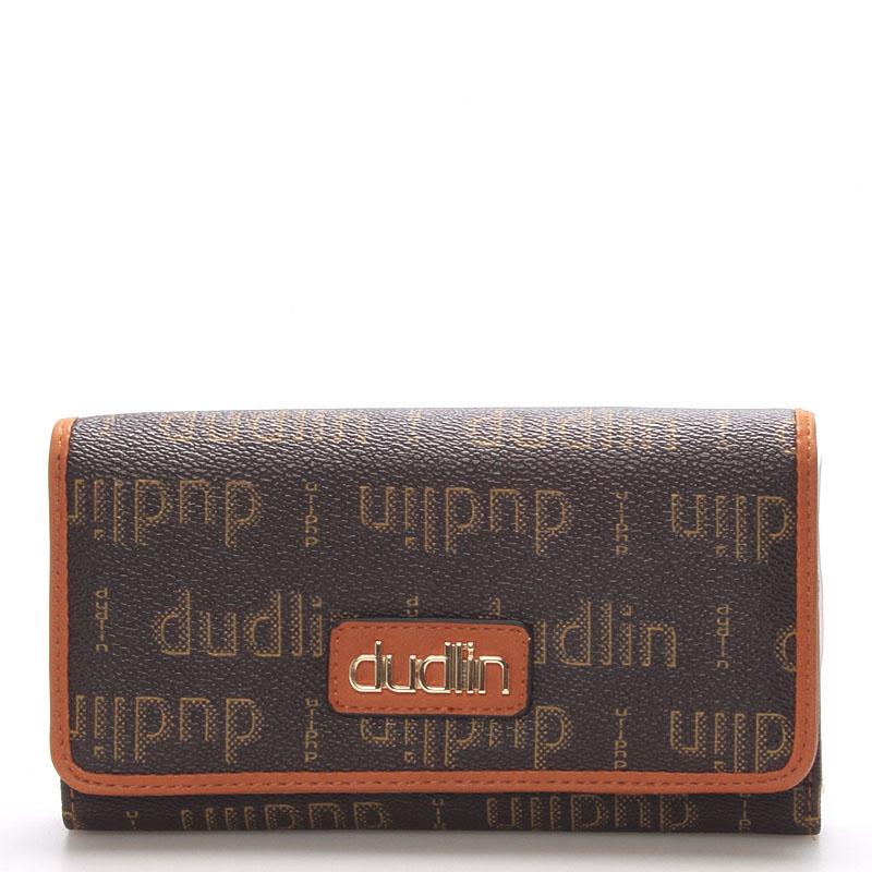 Elegantní dámská khaki peněženka - Dudlin M153