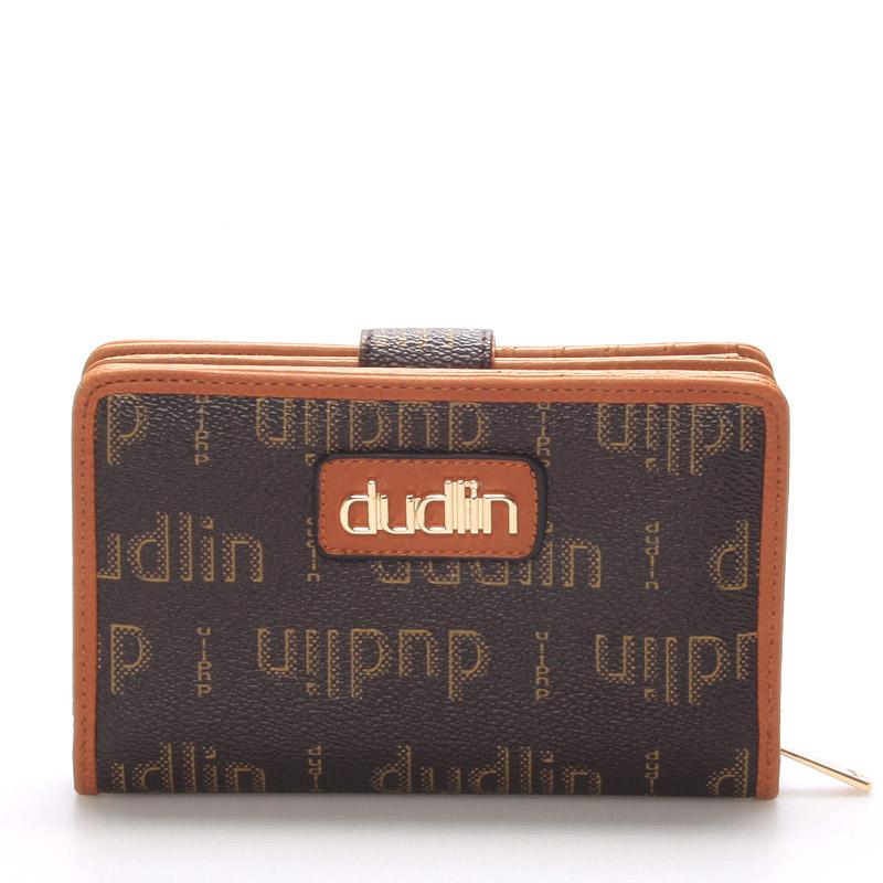Módní dámská khaki peněženka - Dudlin M152