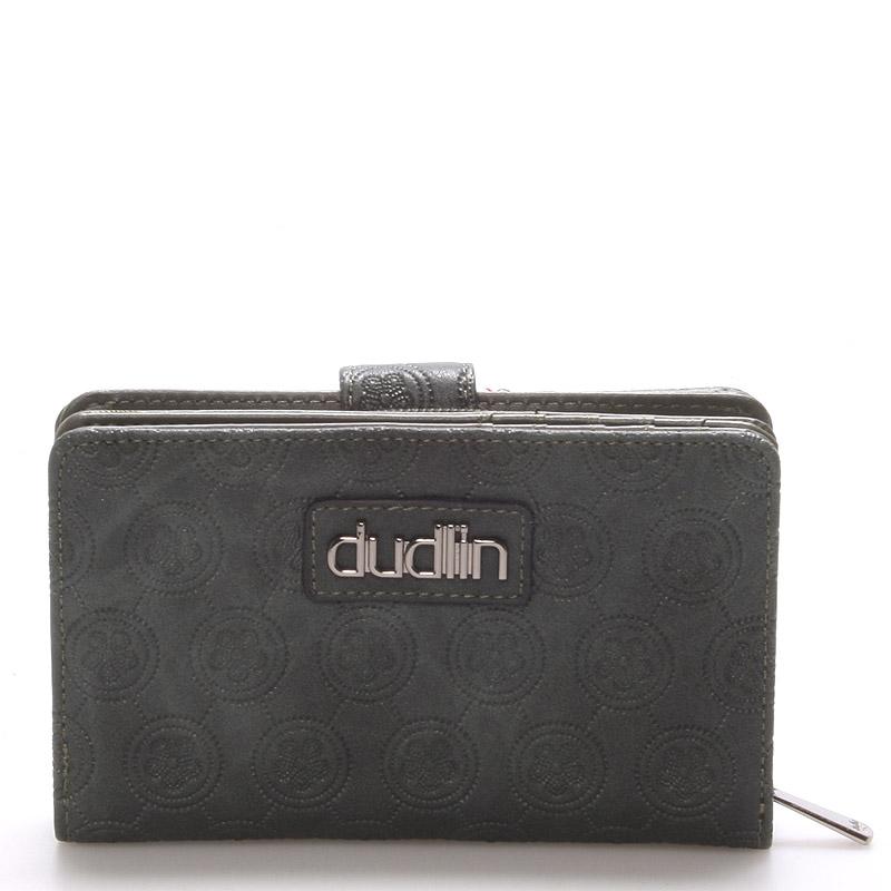 Módní dámská zelená peněženka - Dudlin M163