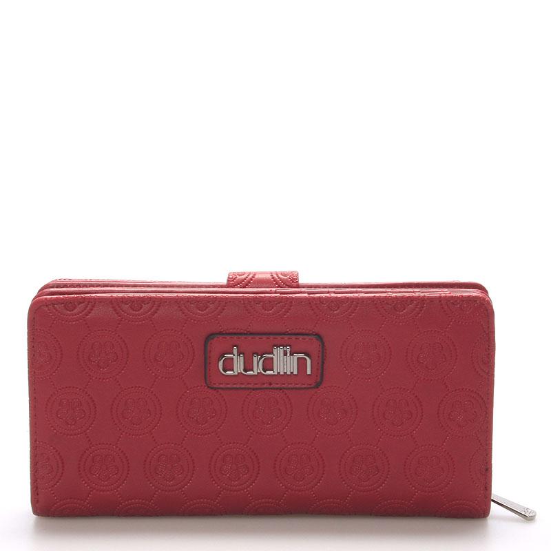 Dámská větší červená peněženka - Dudlin M162