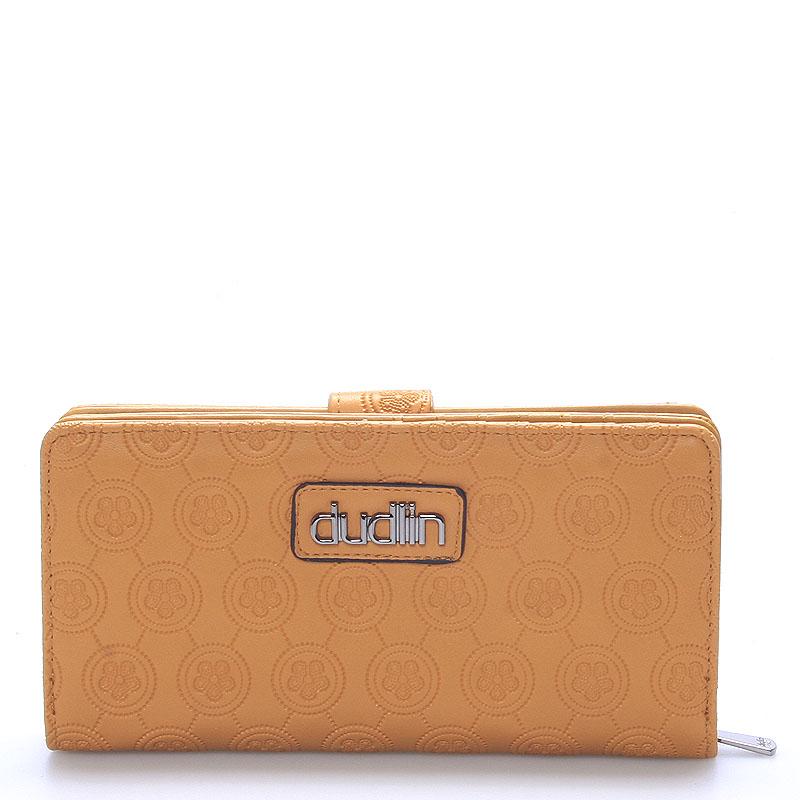 Dámská větší žlutá peněženka - Dudlin M162