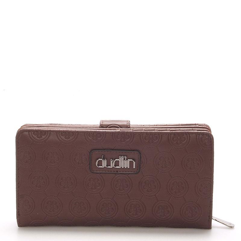 Dámská větší kávová peněženka - Dudlin M162