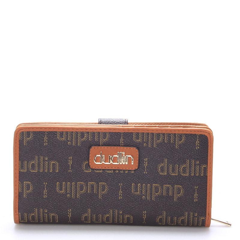 Dámská větší khaki peněženka - Dudlin M151