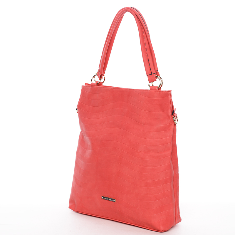Módní dámská kabelka přes rameno červená - Silvia Rosa Raison