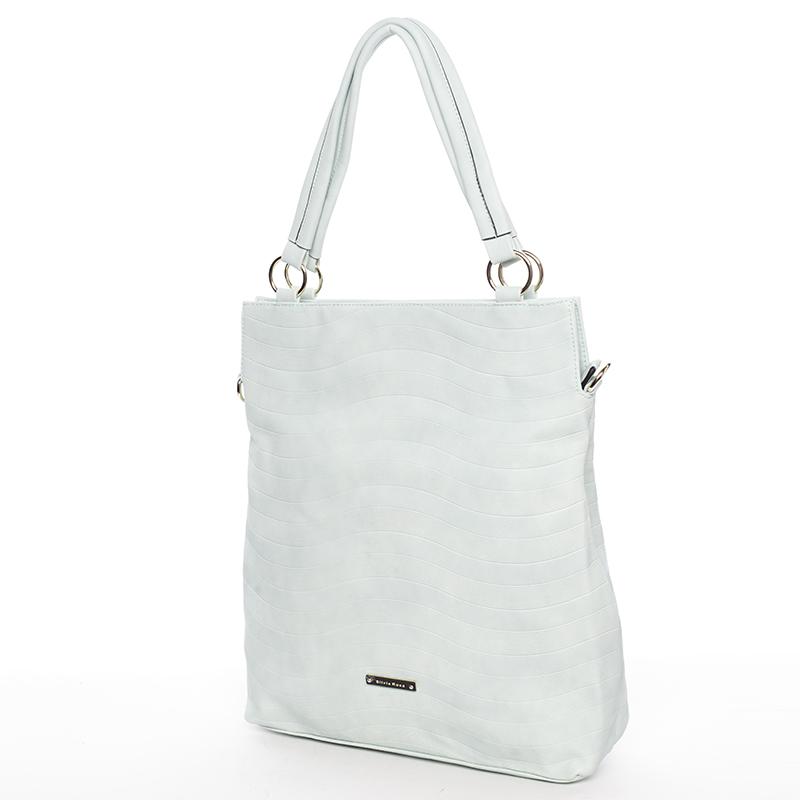 Módní dámská kabelka přes rameno mentolová - Silvia Rosa Raison