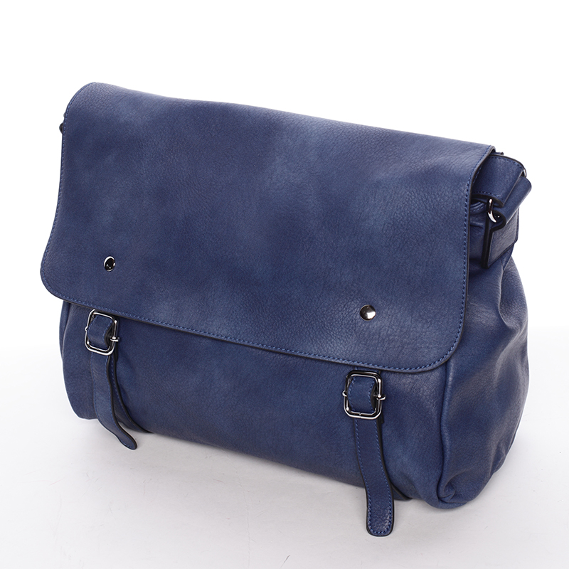 Trendy dámská crossbody kabelka modrá - Dudlin Allete