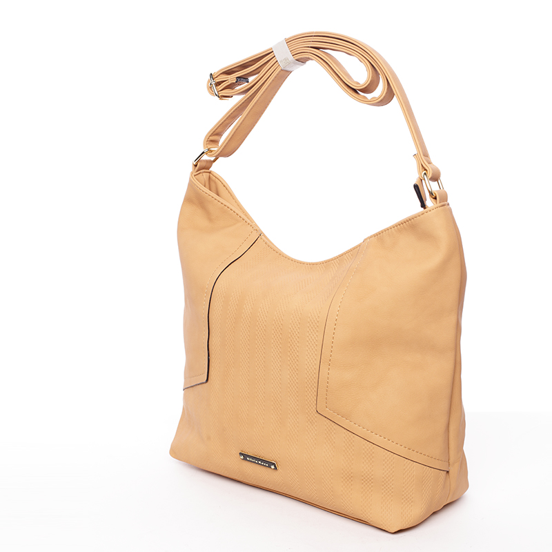 Módní dámská kabelka přes rameno hnědá - Silvia Rosa Dorene