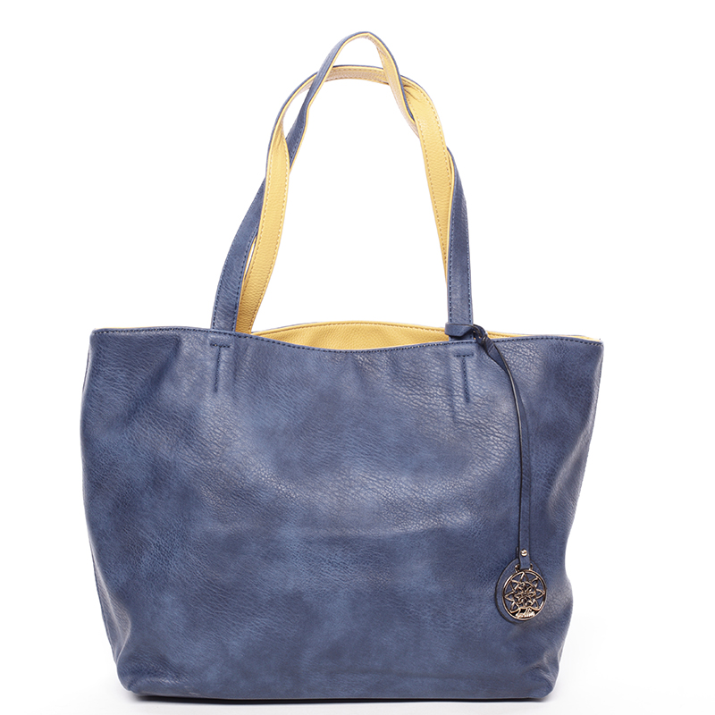 Moderní dámská kabelka přes rameno modrá - Dudlin Richere