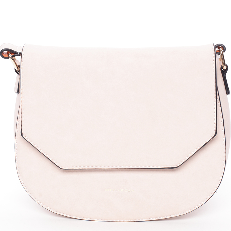Exkluzivní crossbody kabelka růžová - Silvia Rosa Katriane