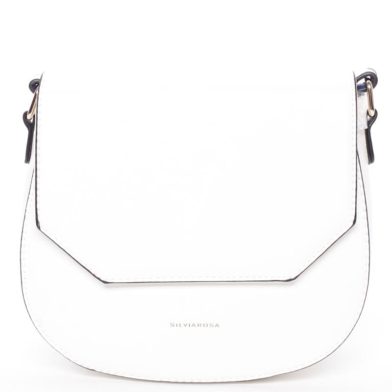 Exkluzivní crossbody kabelka bílá - Silvia Rosa Katriane