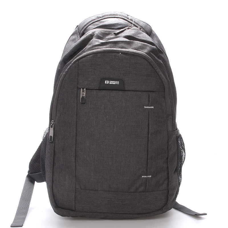 Moderní šedý batoh do školy - Enrico Benetti Acheron
