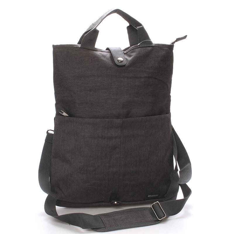 Unikátní šedá nylonová taška - Enrico Benetti Abydos