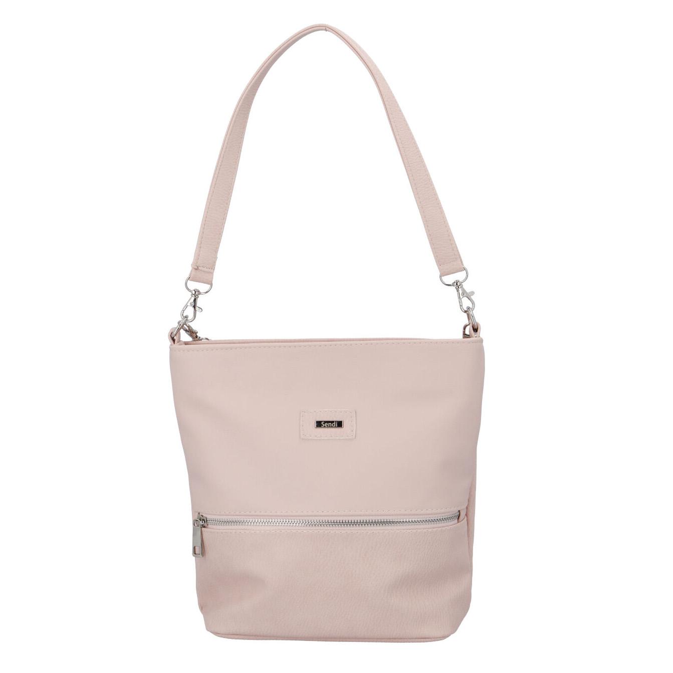 Dámská kabelka světle růžová - SendiDesign Woman