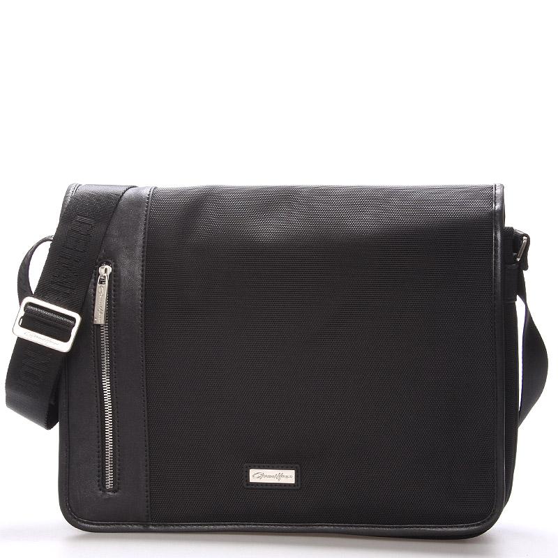 Pánská taška přes rameno černá - Gerard Henon Michel